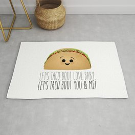 Let's Taco Bout Love Baby Rug