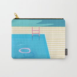 Swimming Pool Sessions Carry-All Pouch