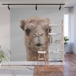 Camel - Colorful Wall Mural
