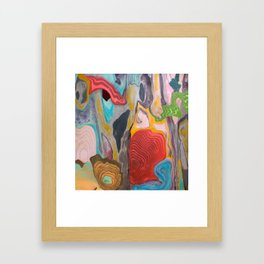 Weightlessness and Gravity Framed Art Print