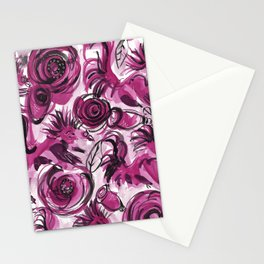 Roosters and Roses SC Stationery Cards
