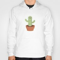 kawaii Hoodies featuring Kawaii Cactus by Nir P