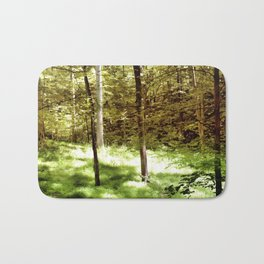 Forest Through the Trees Bath Mat