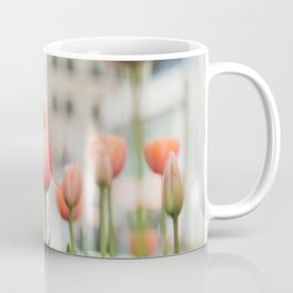 Tulips on Michigan Avenue - Chicago Photography Coffee Mug