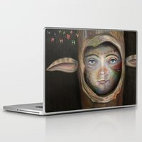 tree of life Laptop & iPad Skins featuring Tree Life by Fizzyjinks