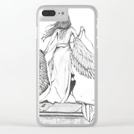 Too Heavy to Carry Clear iPhone Case