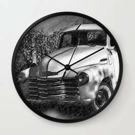 The Chevy Truck Wall Clock