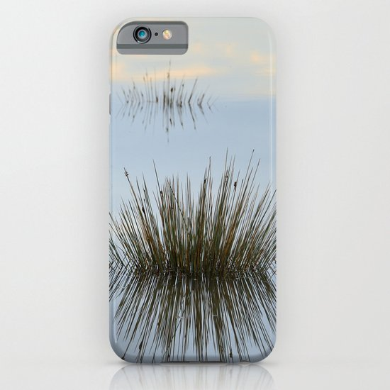 Blue reflections iPhone & iPod Case