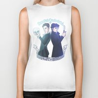 enerjax Biker Tanks featuring Benedict Cumberbatch as Hamlet x Sherlock by enerjax