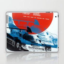 Vintage Fuji 84 Race Poster Laptop & iPad Skin