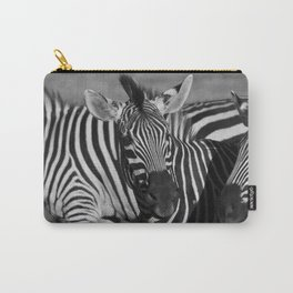 Zimbabwean Zebras Carry-All Pouch