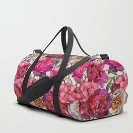 Flower garden V Duffle Bag