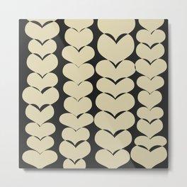 HEARTS TTY N15 Metal Print