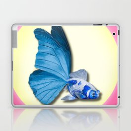 THE BUTTERFLY FISH - Barbara Laptop & iPad Skin