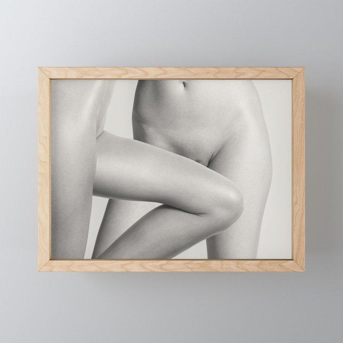 Two Lesbian Lovers Framed Mini Art Print