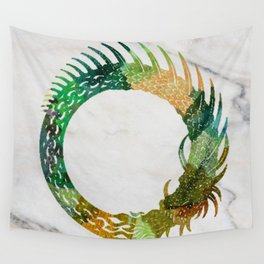 jörmungand Wall Tapestry