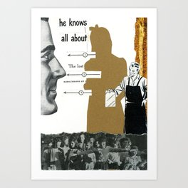 Where Did Film Go ? Art Print