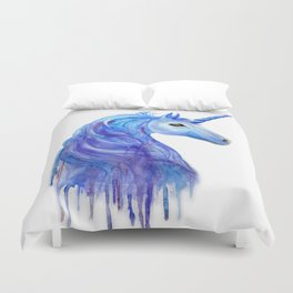 Unicorn art Duvet Cover