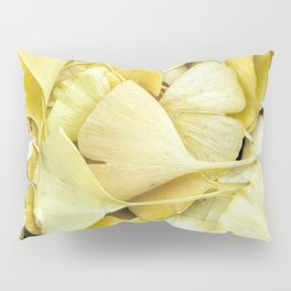 Yellow Ginkgo Leaves Pillow Sham