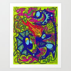 Hot Soup Art Print