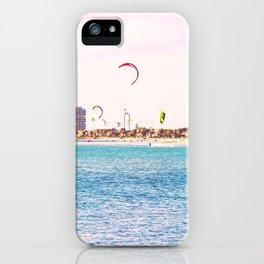 Windsurfing at St Kilda iPhone Case
