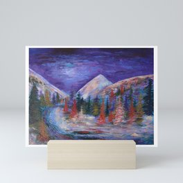 Crystal River, Gunnison National Forest Colorado Mini Art Print