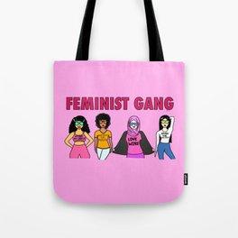 Feminist Gang Tote Bag