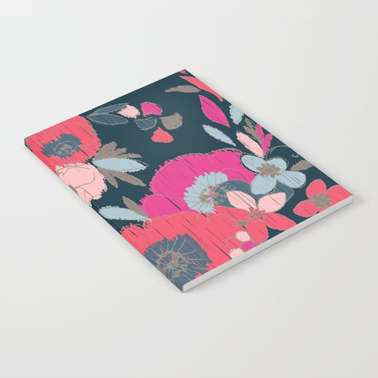 Janis Flower Notebook