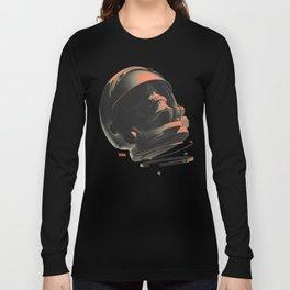 Space Skull Noir Long Sleeve T-shirt