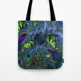 Fractal Jungle Tote Bag
