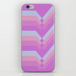 Pastel pattern iPhone Skin