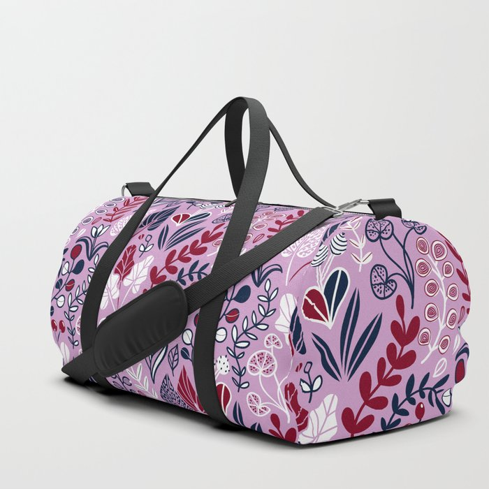 Floral meadow Duffle Bag