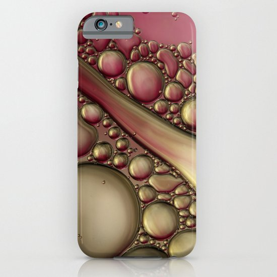Rubies & Gold Bubble Abstract iPhone & iPod Case