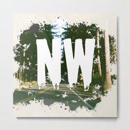 NW Metal Print