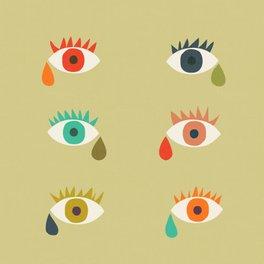 Framed Art Print - Cry me a river - Picomodi