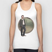 grimes Tank Tops featuring Rick Grimes by Pikeymin
