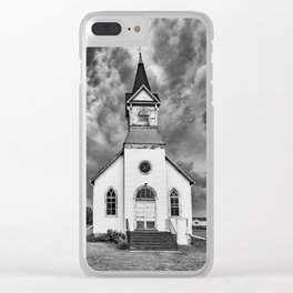 The Second Coming No One Expected Clear iPhone Case