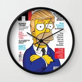 HOMER TRUMP Wall Clock