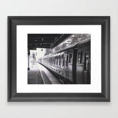 All Trains Lead To Chistlehurst Framed Art Print