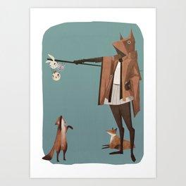 The Fox Shepherd Art Print