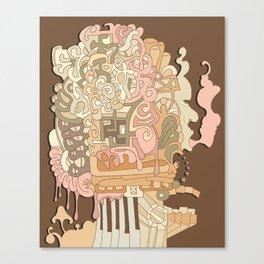 cerebral Canvas Print