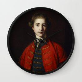 "Sir Joshua Reynolds ""Stephen Croft, Junior"" Wall Clock"