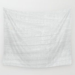 Gray Weathered Wood Wall Tapestry