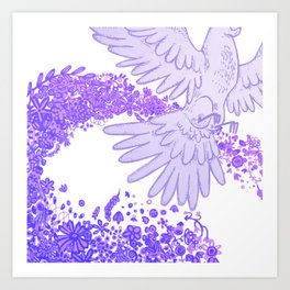 Spiritu sancto Art Print