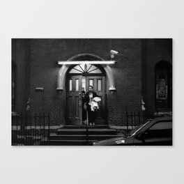 Church Lady Canvas Print