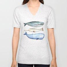S'whale Unisex V-Neck
