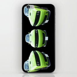 Green Dodge Challenger iPhone Skin