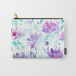 Summer vibes || watercolor florals Carry-All Pouch
