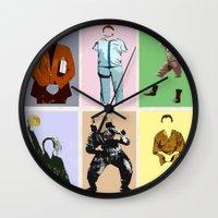bill Wall Clocks featuring Mr Bill by T.E.Perry