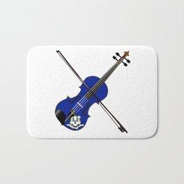 Connecticut State Fiddle Bath Mat